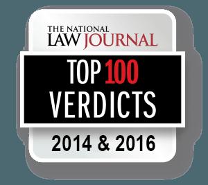 Florin Roebig - Top Verdict National Law Journal - 2014 & 2016