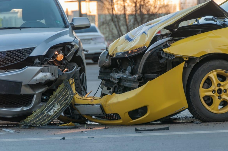 t-bone car crash