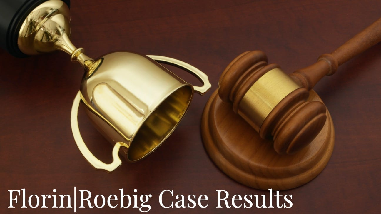 Florin Roebig - Over $1 billion in case results