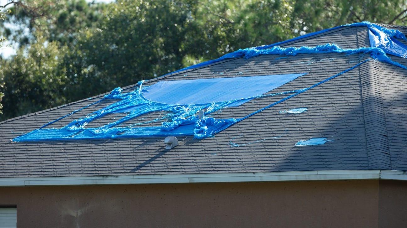 High Speed Wind Roof Damage